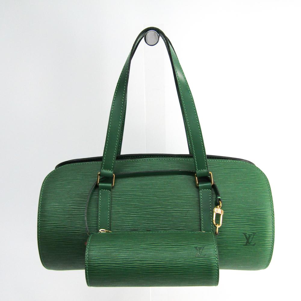ルイ・ヴィトン(Louis Vuitton) エピ スフロ M52224 ハンドバッグ ボルネオグリーン