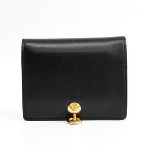 フェンディ(Fendi) BY THE WAY 8M0387 ユニセックス レザー 財布(二つ折り) ブラック