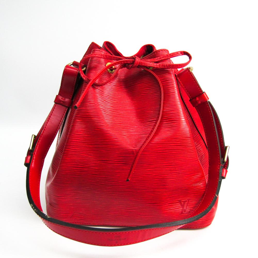 ルイ・ヴィトン(Louis Vuitton) エピ M44107 プチノエ レディース ショルダーバッグ カスティリアンレッド