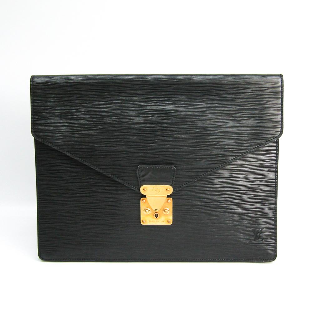 ルイ・ヴィトン(Louis Vuitton) エピ ポルトドキュマン・セナトゥール M54452 ユニセックス ブリーフケース,クラッチバッグ ノワール