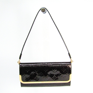 Louis Vuitton Monogram Vernis Rossmore MM M91549 Women's Shoulder Bag Amarante