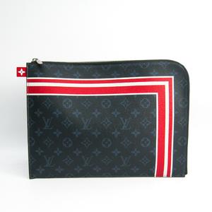 Louis Vuitton Pochette Jules GM M61679 Men's Clutch Bag Monogram Cobalt