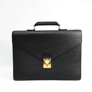 Louis Vuitton Epi Cerviet Conseie M54422 Briefcase Noir
