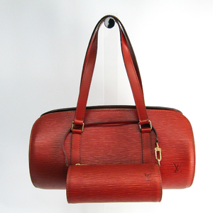 Louis Vuitton Epi SUFLO M52223 Women's Handbag Kenyan Brown
