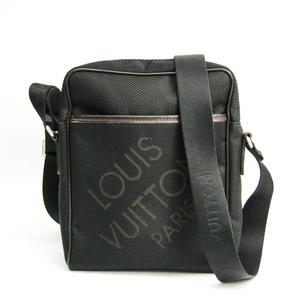 Louis Vuitton Damier Geant Citadan MM M93223 Men's Shoulder Bag Dark Brown,Noir
