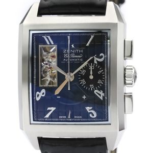Zenith Port-Royal Automatic Stainless Steel Men's Sports Watch 03.0540.4021