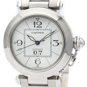 CARTIER Pasha C Big Date Steel Automatic Unisex Watch W31055M7