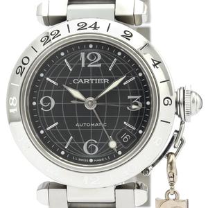 【CARTIER】カルティエ パシャC メリディアン GMT ステンレススチール 自動巻き ユニセックス 時計 W31079M7