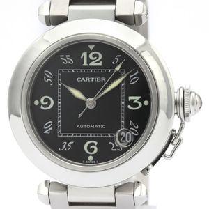 【CARTIER】カルティエ パシャC ステンレススチール 自動巻き ユニセックス 時計 W31043M7
