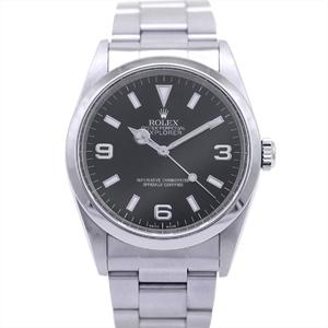 ロレックス(Rolex) エクスプローラーI 自動巻き ステンレススチール(SS) メンズ スポーツウォッチ 14270