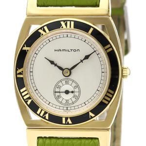 ハミルトン(Hamilton) クォーツ ゴールドプレーティング(GP) レディース ドレスウォッチ