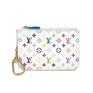 Louis Vuitton Monogram Multicolore M93734 Coin Purse/coin Case Blanc