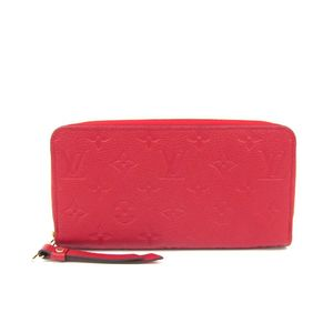 Louis Vuitton Monogram Empreinte M61865 Zippy Wallet Women's Long Wallet (bi-fold) Cerise
