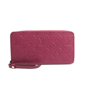 Louis Vuitton Monogram Empreinte Zippy Wallet M60549 Women's Long Wallet (bi-fold) Aurore
