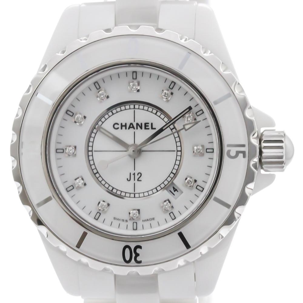 Chanel J12 Quartz Ceramic Women's Sports Watch H1628