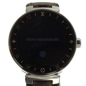 Genuine LOUIS VUITTON Louis Vuitton Tambour Horizon Men's Watch QA003