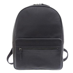 Genuine FURLA Furla leather backpack rucksack black U460 060 / ONYX