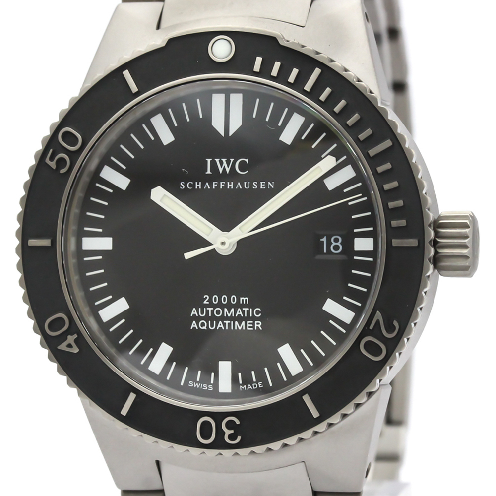 IWC Aquatimer GST 2000 Titanium Automatic Mens Watch IW353601