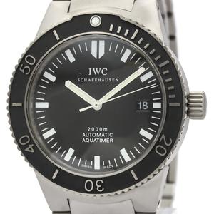 【IWC】アクアタイマー GST 2000 チタン 自動巻き メンズ 時計 IW353601