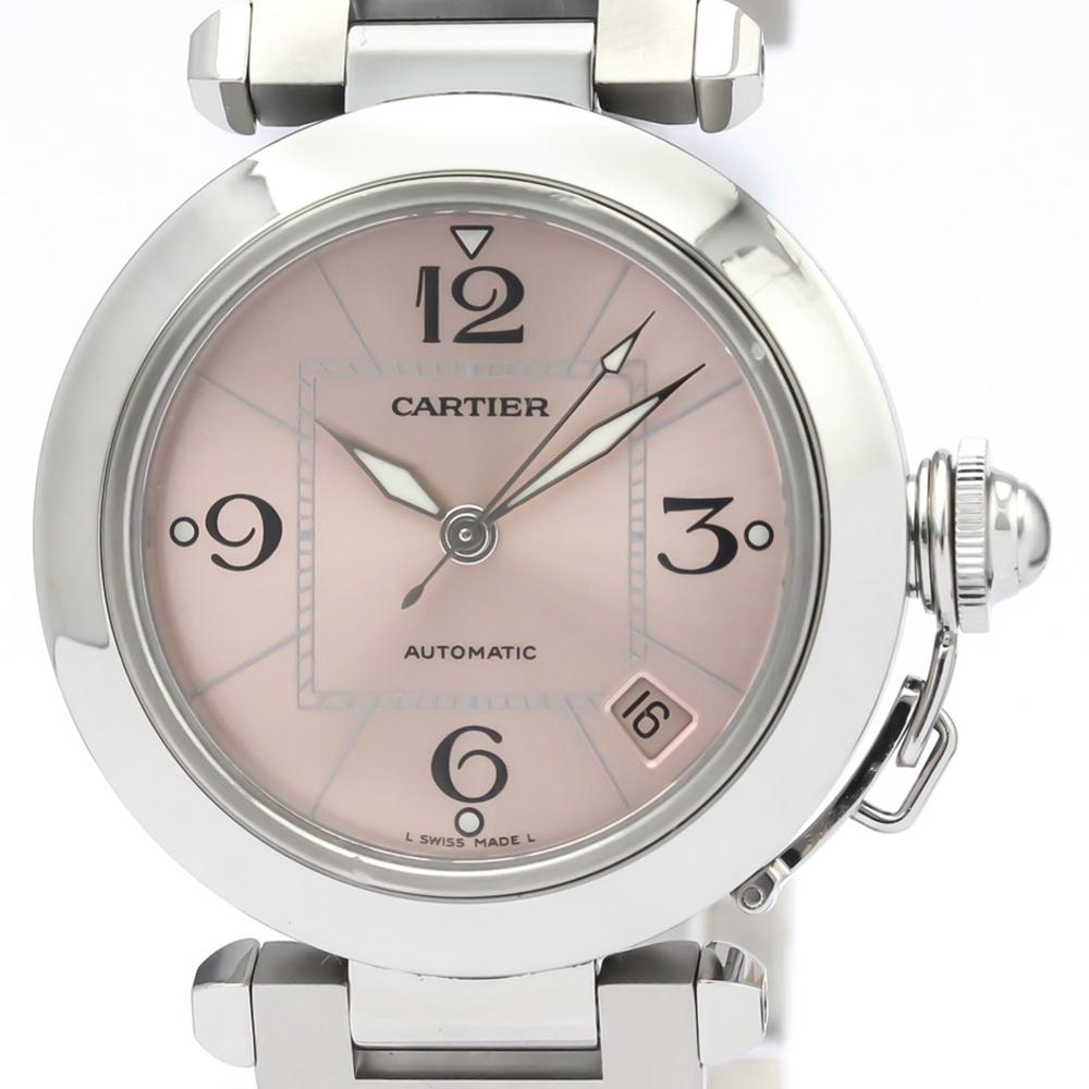 【CARTIER】カルティエ パシャC ステンレススチール 自動巻き ユニセックス 時計 W31075M7