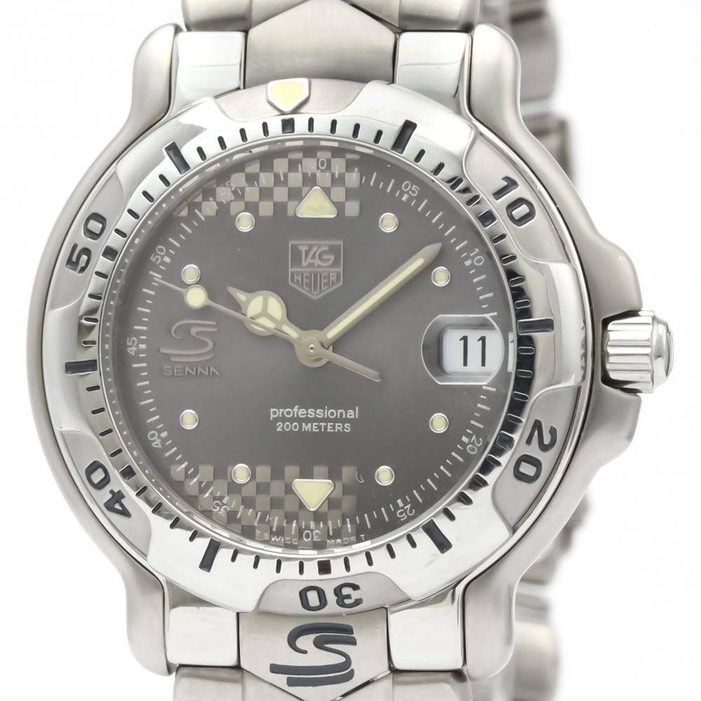 Tag Heuer 6000 Series Quartz Stainless Steel Men's Sports Watch WH1214