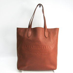 Burberry 4068849 Unisex Leather Tote Bag Brown