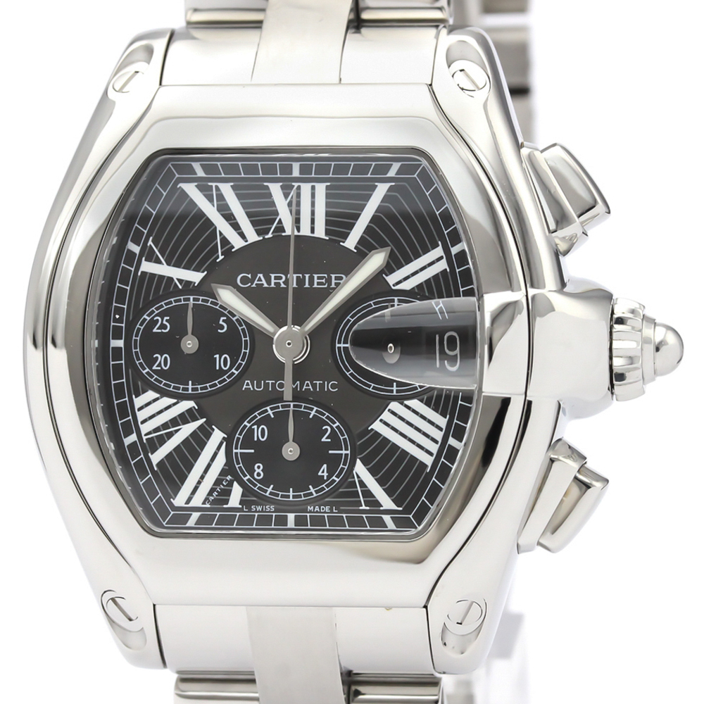 CARTIER Roadster Chronograph Automatic Mens Watch W62020X6