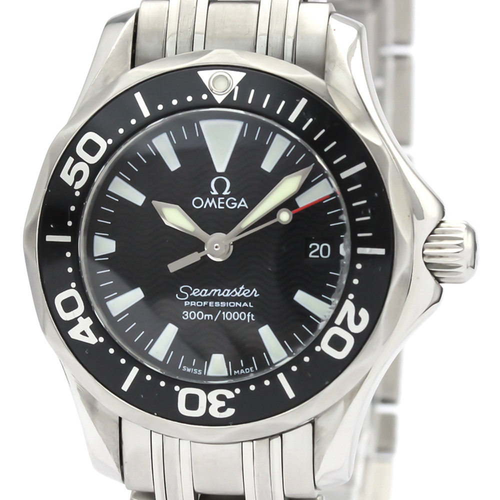 Omega Seamaster Quartz Stainless Steel Women's Sports Watch 2282.50