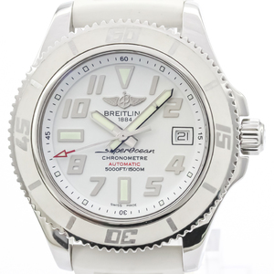 Breitling Superocean Automatic Stainless Steel Men's Sports Watch A17364