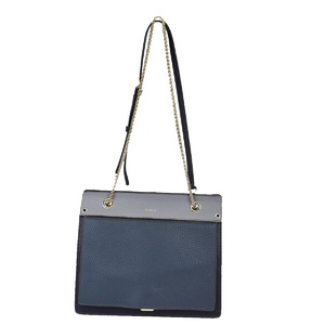 Furla Leather Shoulder Bag Black