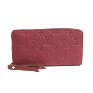 Louis Vuitton Monogram Empreinte Zippy Wallet M62214 Women's Long Wallet (bi-fold) Raisin