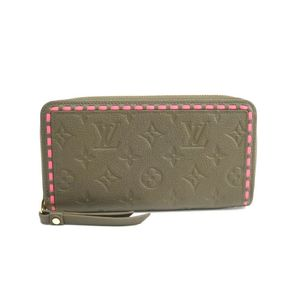 Louis Vuitton Monogram Empreinte Zippy Wallet M62451 Women's Long Wallet (bi-fold) Rose,Khaki