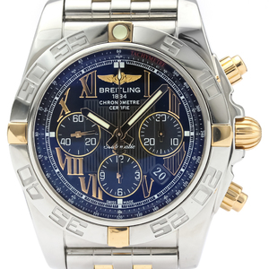 Breitling Chronomat Automatic Pink Gold (18K),Stainless Steel Men's Sports Watch IB0110