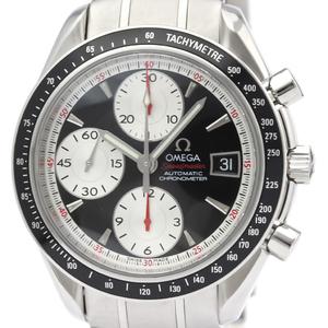 【OMEGA】オメガ スピードマスター デイト ステンレススチール 自動巻き メンズ 時計 3210.51