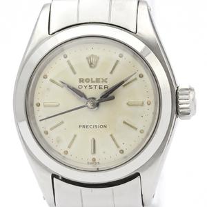 ロレックス(Rolex) オイスター・プレシジョン 手巻き ステンレススチール(SS) レディース ドレスウォッチ 6410