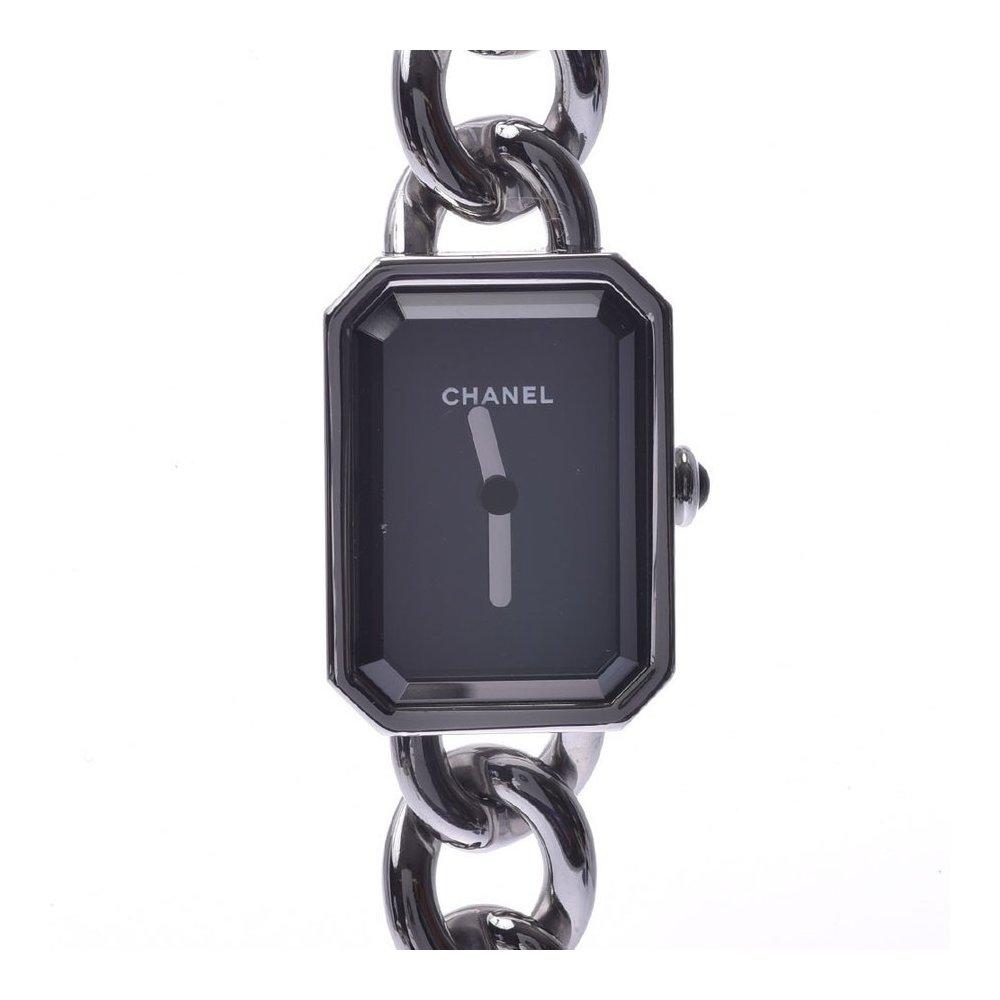 CHANEL Chanel Premiere H3248 Ladies SS Watch Quartz Black Dial