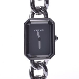 CHANEL Chanel Premiere H3248 Ladies SS Watch Quartz Black Dial