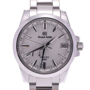 SEIKO Seiko Grand Heritage Collection Spring Drive GMT 9R66-0AE0 SBGE209 Men's SS Watch White Dial