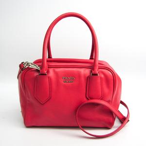 プラダ(Prada) インサイドバッグ 1BB011 レディース レザー ハンドバッグ,ショルダーバッグ ピンク