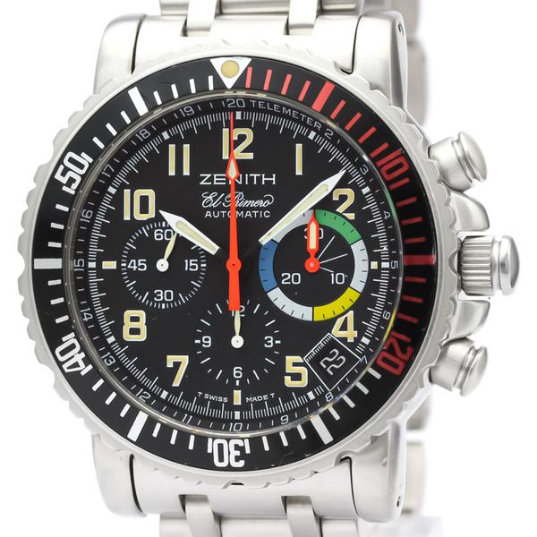 Zenith Rainbow Automatic Stainless Steel Men's Sports Watch 02.0480.405