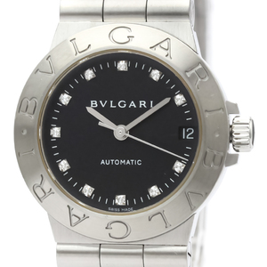 Bvlgari Diagono Automatic Stainless Steel Women's Dress Watch LCV29S