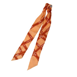 エルメス(Hermes) ツイリー シルク スカーフ オレンジ
