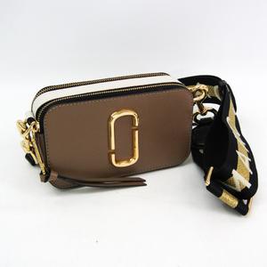 マーク・ジェイコブス(Marc Jacobs) スナップショット/Snapshot M0014146 ユニセックス レザー ショルダーバッグ ブラック,ゴールド,ライトブラウン,ホワイト