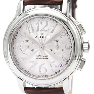 Zenith Chronomaster Automatic Stainless Steel Women's Sports Watch 03.1230.4002