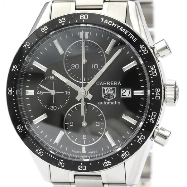 TAG HEUER Carrera Chronograph Steel Automatic Watch CV201E