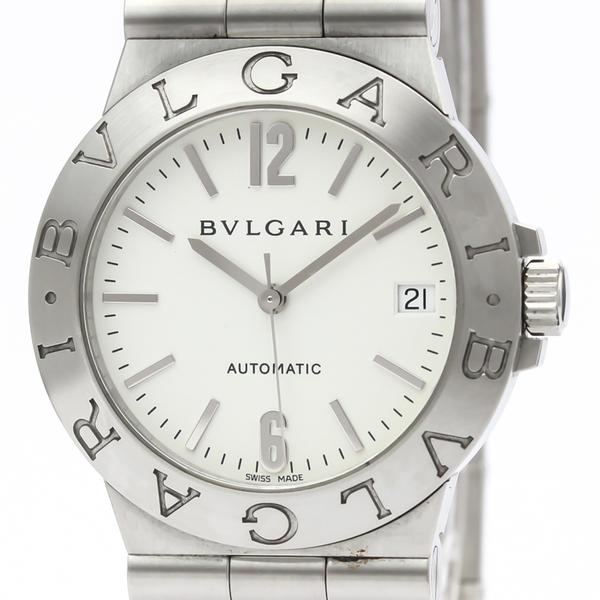 Bvlgari Diagono Automatic Stainless Steel Men's Dress Watch LCV35S