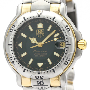 Tag Heuer 6000 Series Automatic Stainless Steel,Yellow Gold (18K) Men's Sports Watch WH5253