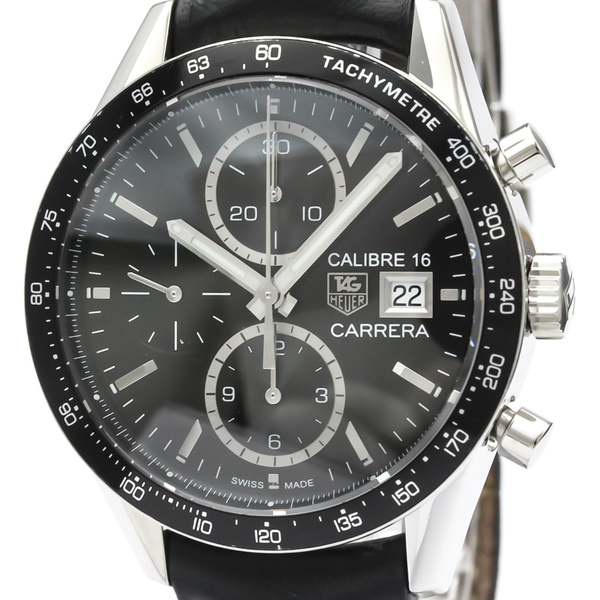 Tag Heuer Carrera Automatic Stainless Steel Men's Sports Watch CV201AJ