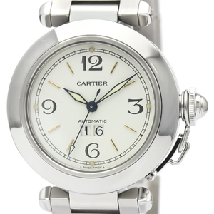 Cartier Pasha C Automatic Stainless Steel Unisex Dress Watch W31044M7