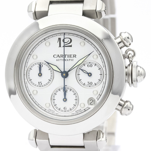Cartier Pasha C Automatic Stainless Steel Unisex Dress Watch W31039M7